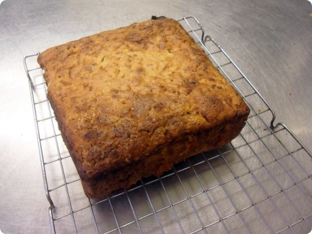 courgette bread - zucchini bread