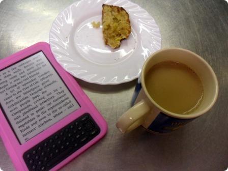 tea, cake and a book