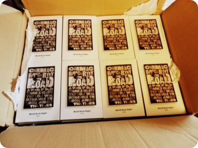 The Road Cormac McCarthy World Book Night UK giveaway